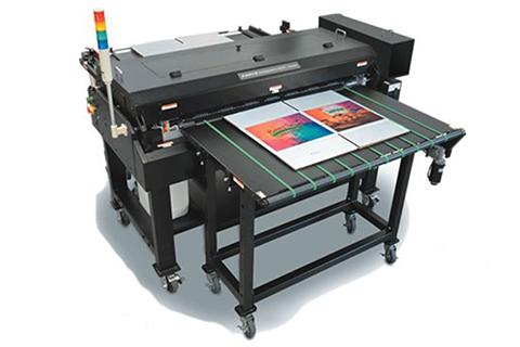 ダンボール印刷用インクジェットプリンター