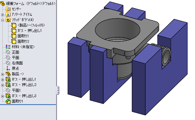 包装設計に活用!3次元CAD 「SOLIDWORKS Box-design」