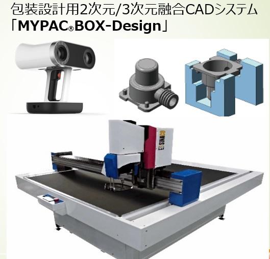 包装設計2D/3DCAD:MYPAC®BOX-Design【活用事例】